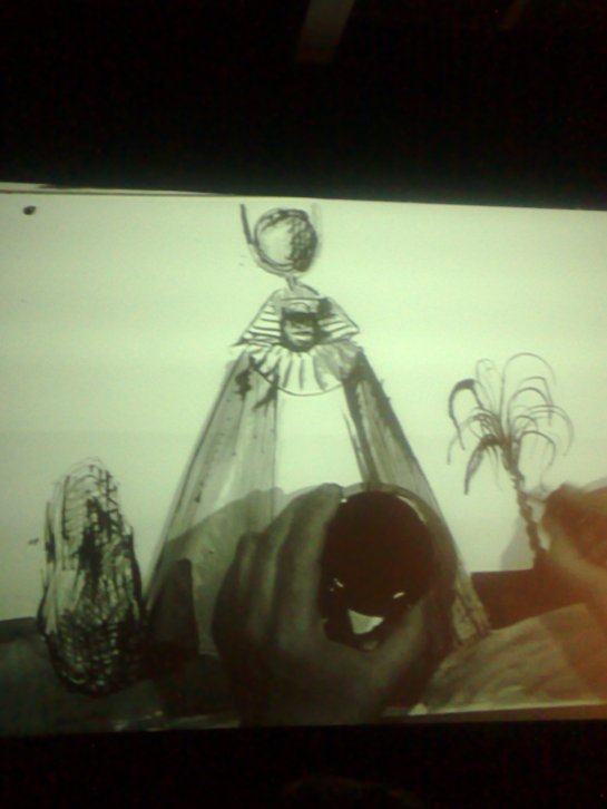 Total Sun Ra, Blutch, Fondation Cartier